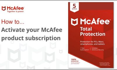 Install and Activate McAfee Product Online