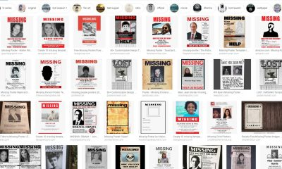 Missing Poster Online