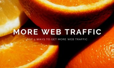 Top 5 Ways to Get More Web Traffic