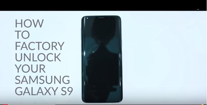 Unlock Galaxy S9