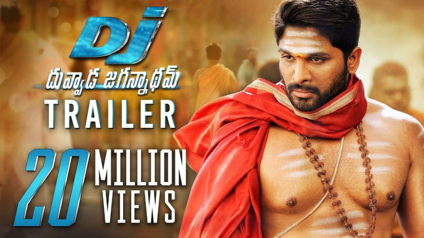Allu Arjun Duvvada Jagannadham Trailer