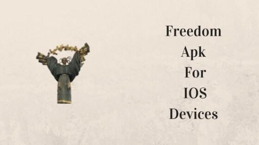 Freedom App for iOS
