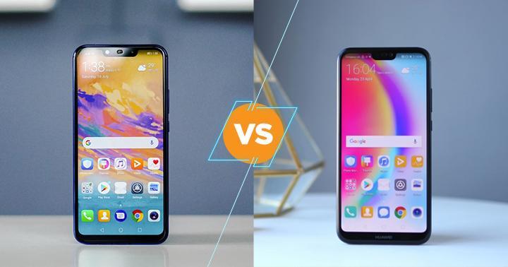 Huawei Nova 3i vs Huawei Mate 20