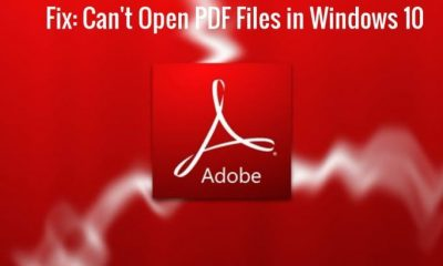 How to Fix PDF files won't open in Windows 10