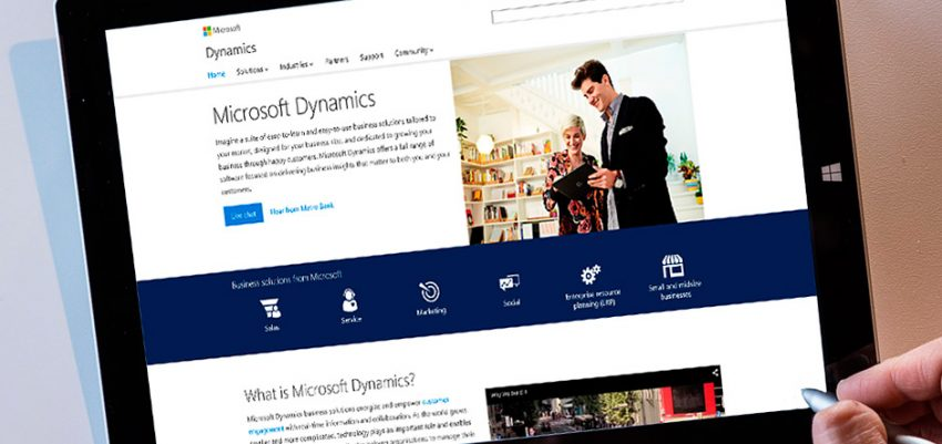Microsoft Dynamics signed $1 Million