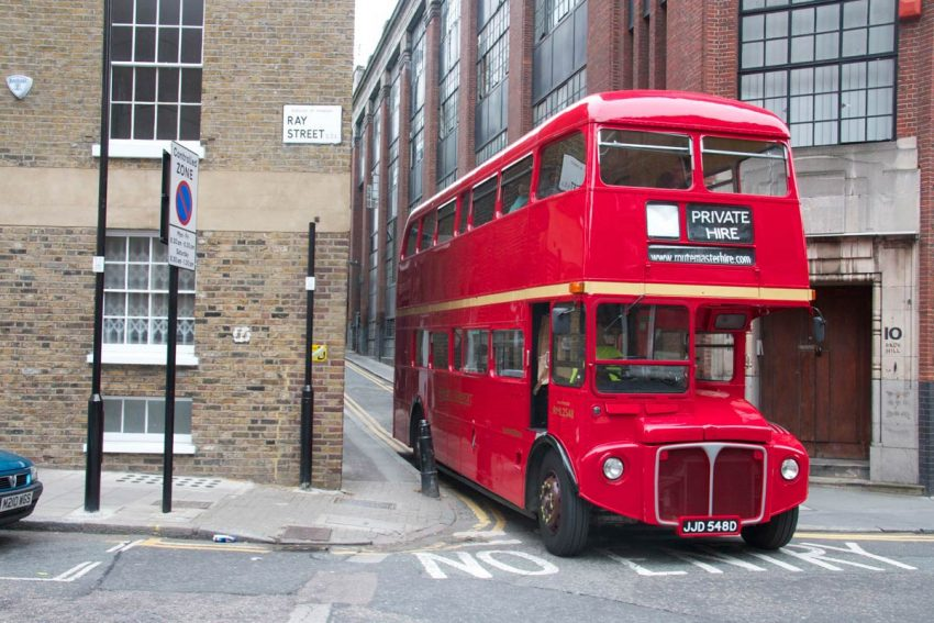 Bus Hiring Services in London
