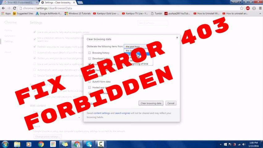 Safari Network Error 303 on Mac