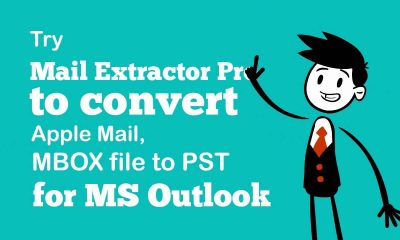 Mac MBOX files to PST