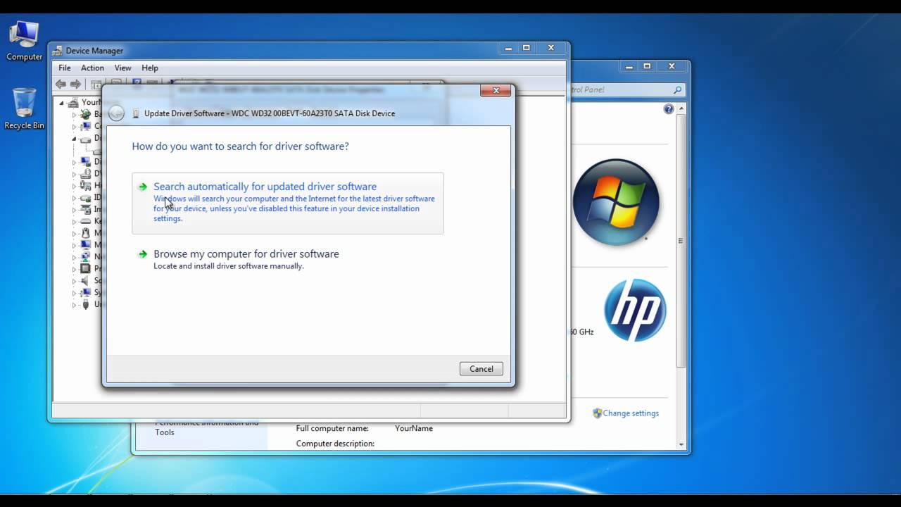 SOFTWARE Installing Drivers Automatically