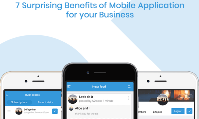7 Surprising Benefits of Mobile Application for your Business