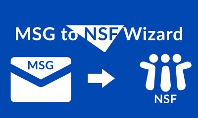 Lotus Notes to MSG file format