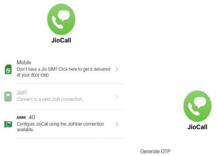 JioCall app