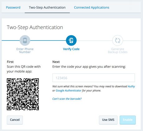 Two-Factor Authentication Setup on WordPress