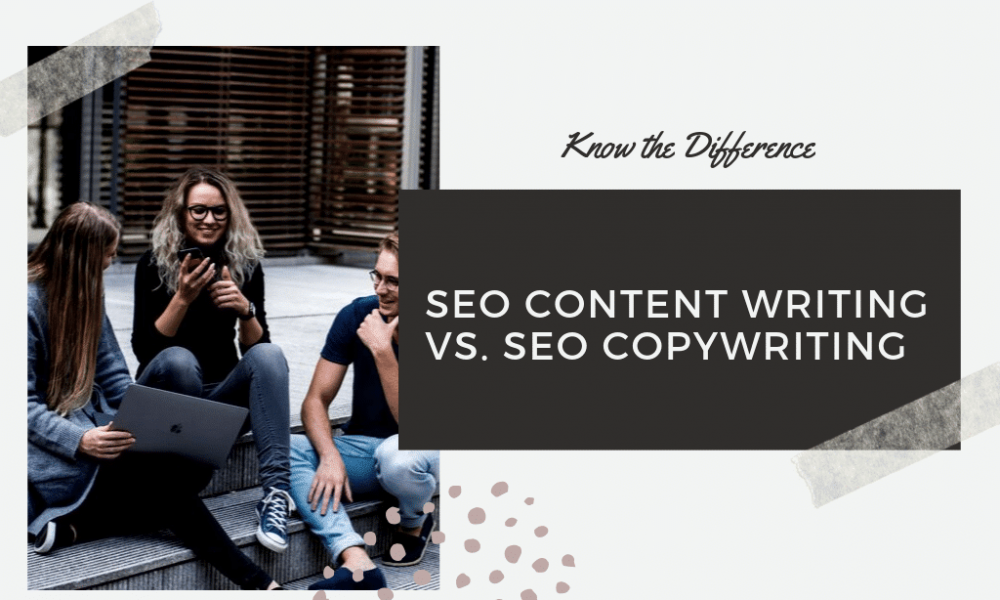 In fact, most people who aren't SEO copywriters or content writers never suspected there was a difference.