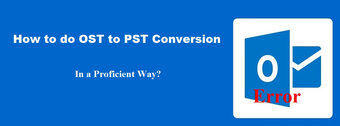 OST to PST Conversion