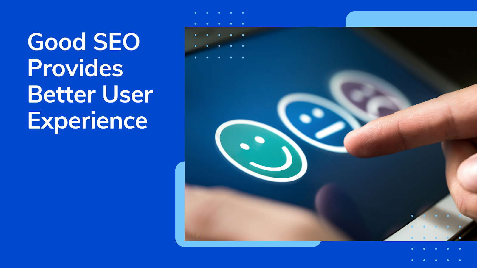 Good SEO Provides Better User Experience