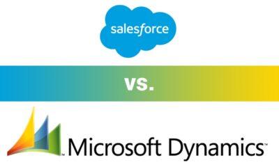 Microsoft Dynamics CRM vs. Salesforce