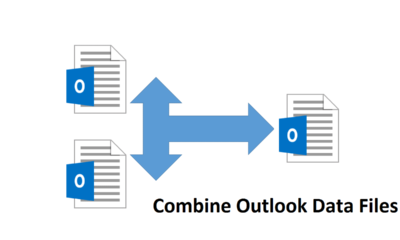 How to Combine Outlook Data Files