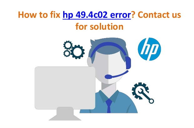 HP Error 49.4 c02