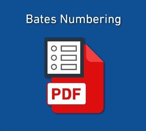 Bates Numbering Legal Documents