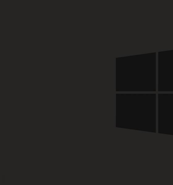 Black Desktop Background In Windows 10