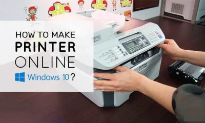 Printer online in Windows 10