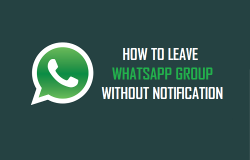 How To Leave WhatsApp Group Without Notification?