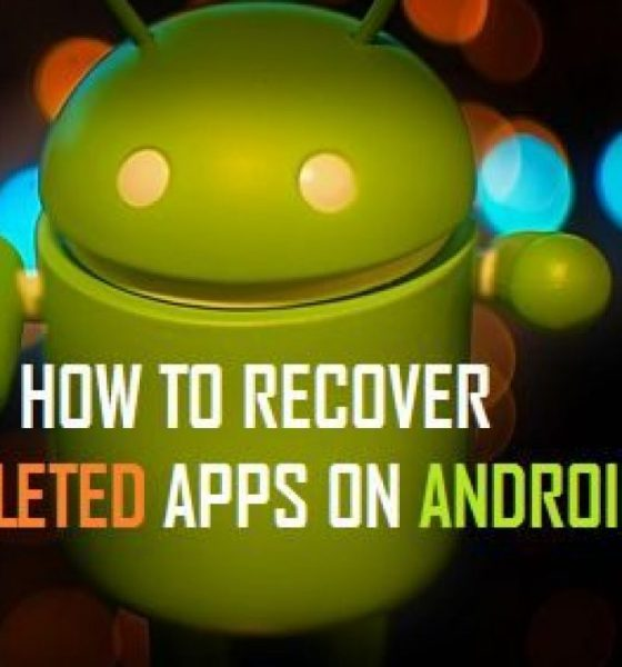 deleted apps on an Android phone