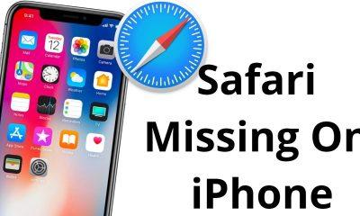 Missing Safari Icon On iPhone or iPad