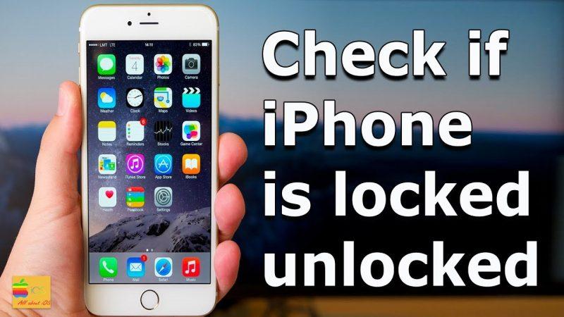 iPhone Is Unlocked