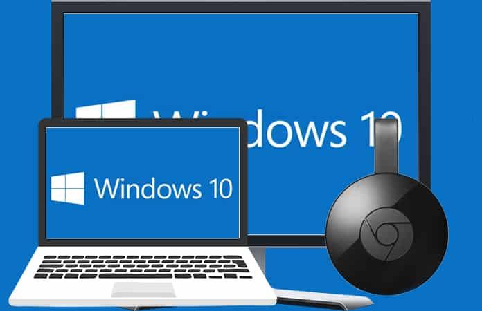 Chromecast on Windows 10 Computer