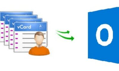 Import vCard Contacts to Outlook 2016