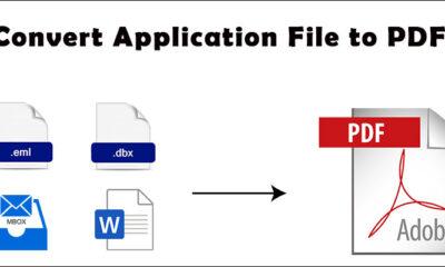 Convert Application File to PDF